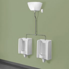 Healey & Lord 2 Station Florida Urinal Kit - Top Inlet with Exposed Cistern